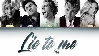 5SOS - Lie to me (ft. Julia Michaels) color coded lyrics