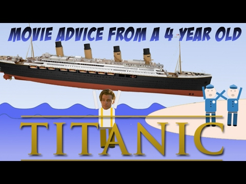 Movie Advice From a 4-Year Old: Titanic (1997) James Cameron, Leonardo DiCaprioиз YouTube · Длительность: 2 мин47 с