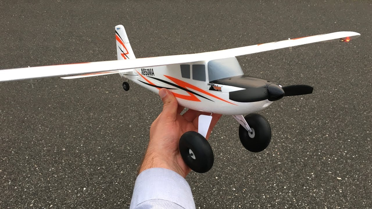 E-flite UMX Timber STOL RC Plane With AS3X - Flight Near Dusk