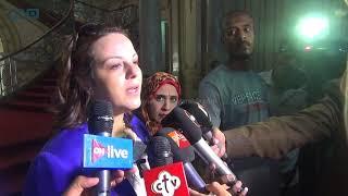 مصر العربية |  الموسيقى العسكرية تستقبل طلاب جامعة عين شمس بأول أيام الدراسة