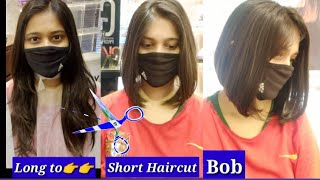 Long to short haircut tutorial - easy bob haircut tutorial for beginners - haircut expert Shyama's M