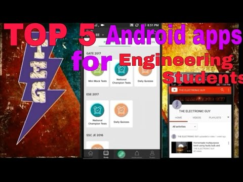 TOP 5 Android apps for engineering students ✔