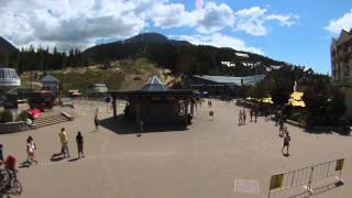 Whistler Village 3.0 -- Mountain Zone Time Lapse (Skier