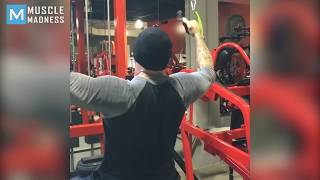 Dave Bautista Training for Avengers   Muscle Madness