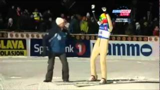 Johan Remen Evensen NEW WORLD RECORD 246,5 m Vikersund