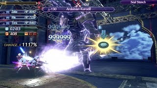 Xenoblade Chronicles 2 Challenge Mode: 9 Imp. Armored Div. - 1 orb Ardainian Kurodil setup