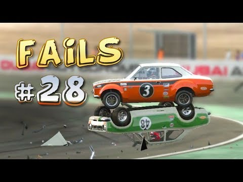 Racing Games FAILS Compilation #28