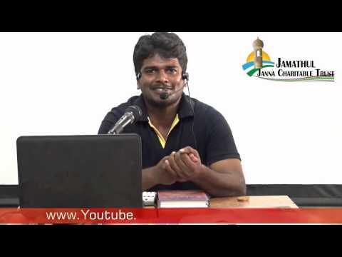 """Umar @ Sindan"" Why I Convert to Islam? (Tamil) 2015-07-19 Way to Paradise Class"