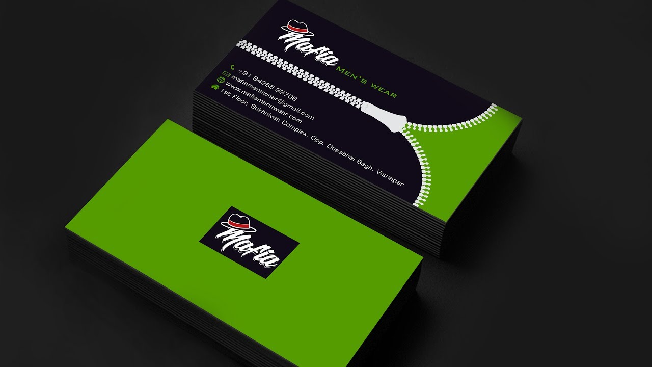 Zipeer Business Card Design - Free Of Cost - YouTube