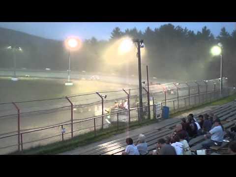 Bear Ridge Speedway #57 USAC Dirt Midget 7/27/2013 Part III