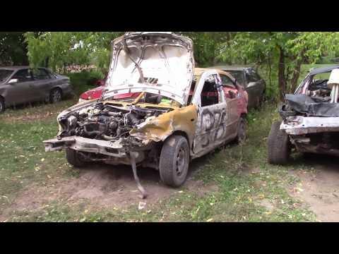 2003 Vw Jetta Diesel Aftermath After Grandvally Demolition Derby