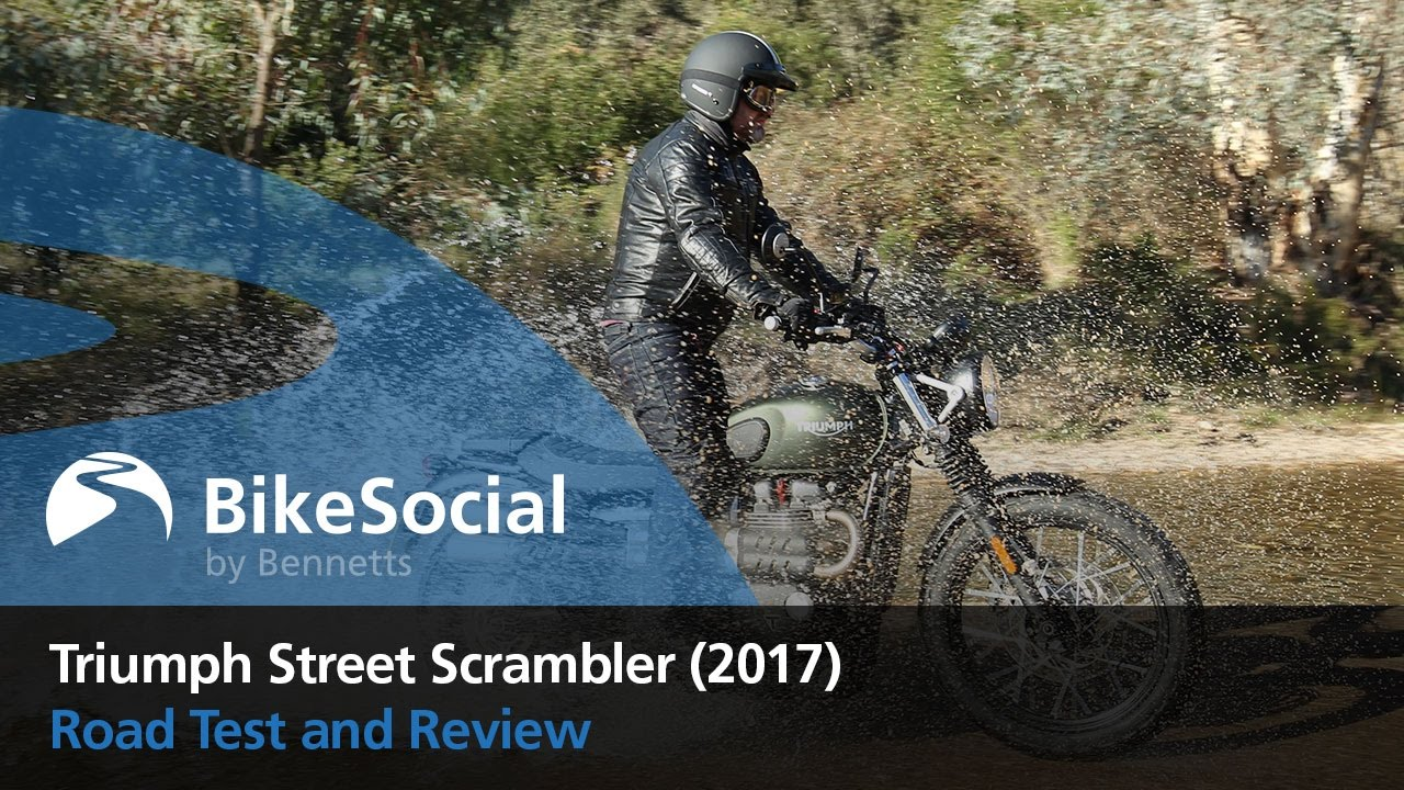 Triumph Street Scrambler (2017) - first ride and review