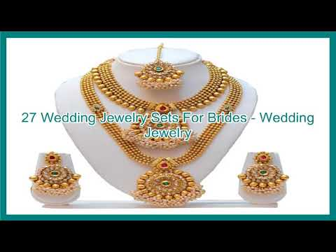 27 Wedding Jewelry Sets For Brides - Wedding Jewelry
