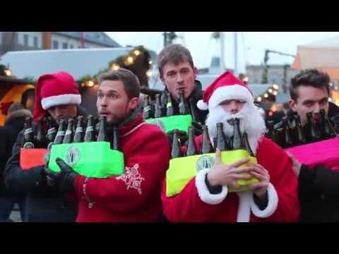 Bottle Boys - The Big Christmas Medley on Beer Bottles
