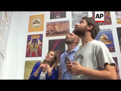 Palestinian museum shows first exhibition