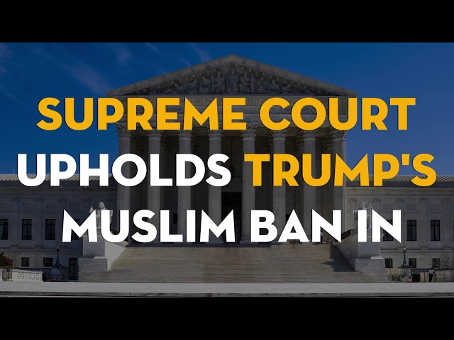 CAIR Video: It\'s Up to You, Not the Courts, to Defeat Trump\'s Muslim Ban