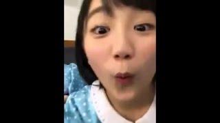 スクショし放題。 LINE LIVE カントリー・ガールズ 小関舞・船木結・森...