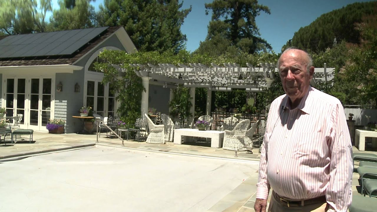 george shultz walks the talk on clean energy youtube
