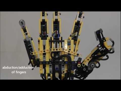 Lego Robotic Arm - YouTube