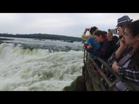 4K Iguazu Falls Argentina, Cataratas de Iguazú Argentina - Foz do Iguaçu