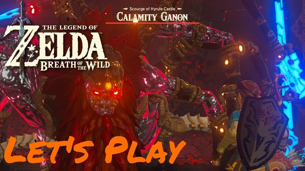 Legend Of Zelda Botw Part 2 Finale Calamity Ganon Boss Fight True Ending