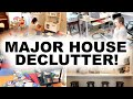 MAJOR HOUSE DECLUTTER & ORGANIZATION 2019! COMPLETE DISASTER CLEANING MOTIVATION! DECLUTTER WITH ME!