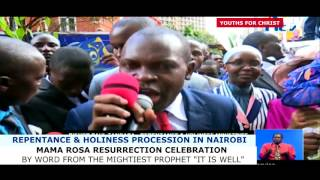 """Woman from South Pokot resurrets after two hours by the Word """"It Is Well"""""""