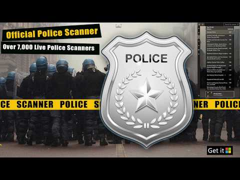 Official Police Scanner | Scanner App for Windows 10 | 5-0