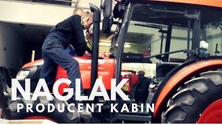 Wizyta u producenta kabin do ciągników i kombajnów - Naglak