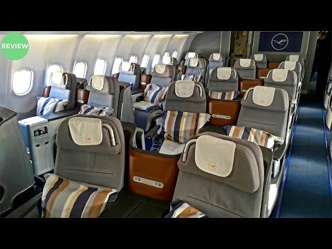 LUFTHANSA |BUSINESS CLASS FLIGHT REVIEW | A340-600 |DUBAI TO MUNICH