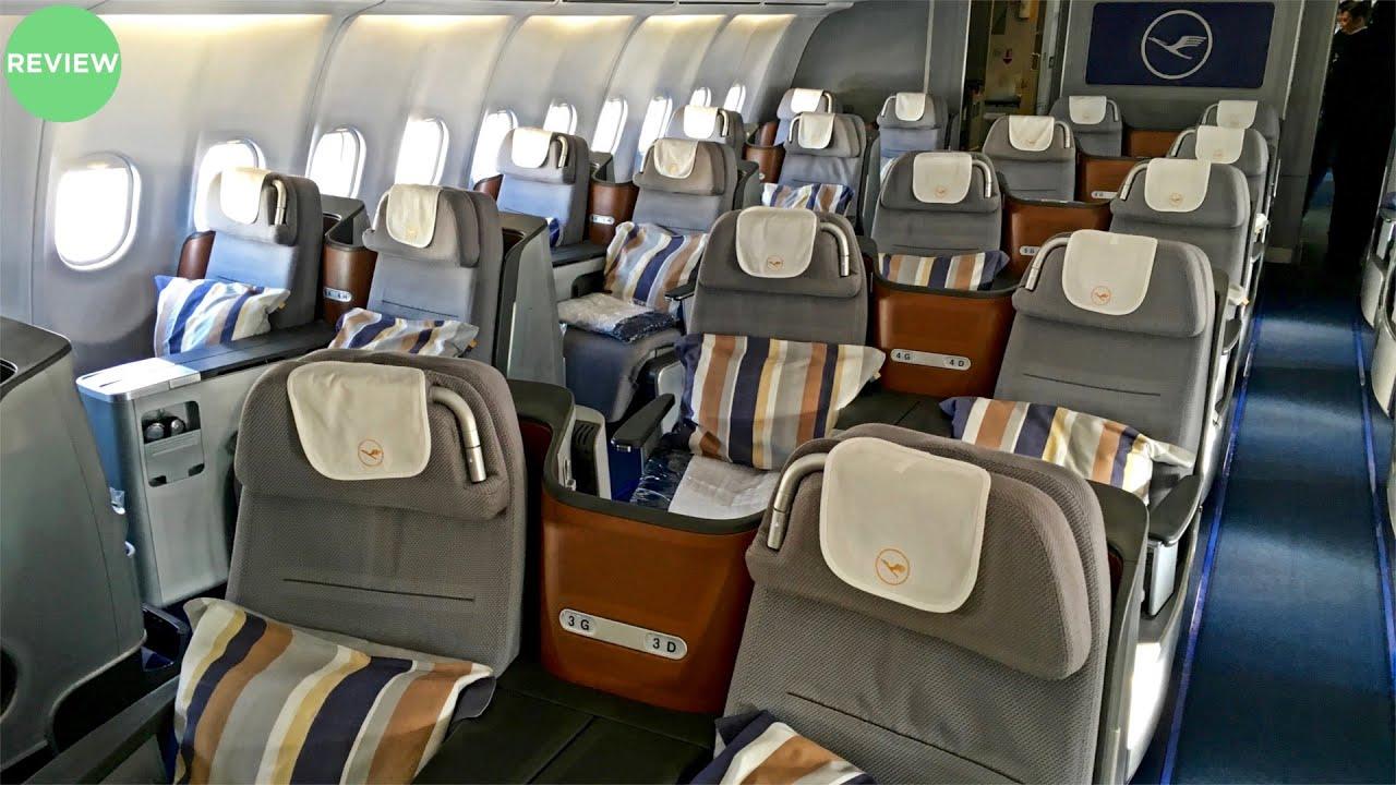 LUFTHANSA | BUSINESS CLASS FLIGHT REVIEW | A340-600 ...