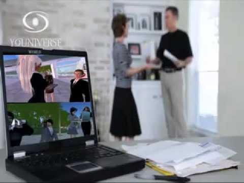 Web3D Social Network