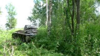 Продолжаем публикацию немецкого танка PZ II Aust F. Лес