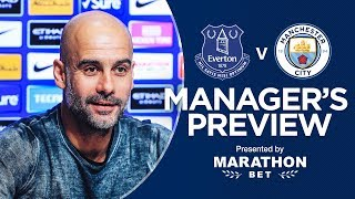 Pep Guardiola previews Everton v Man City | PRESS CONFERENCE