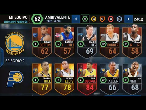 NBA Live Mobile -  Golden State Warriors Gameplay Ep.2 vs Indiana Pacers