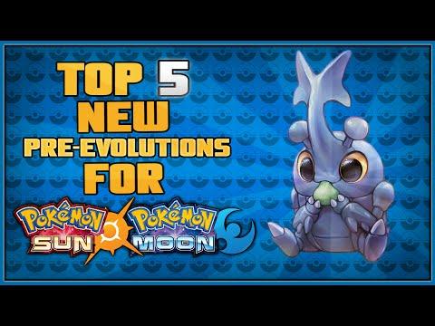 Top 5 New Pre-Evolutions for Pokémon Sun and Pokémon Moon