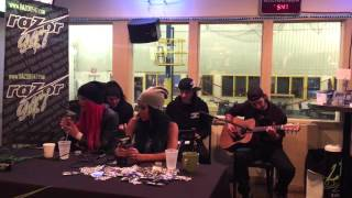 "Butcher Babies ""Thrown Away"" live acoustic at The Watering Hole"