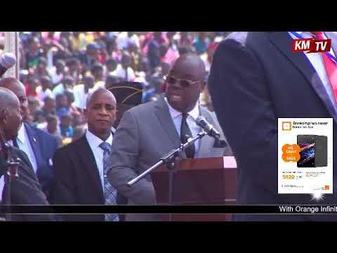 LIBERIA PRESIDENTIAL INAUGURATION 2018
