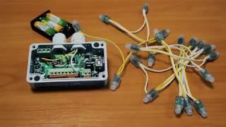 Испытания светодиодного контроллера Dominator DMX