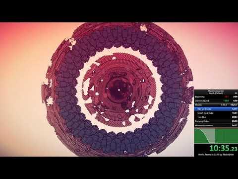 [WR] [32:46] Manifold Garden any% (No Wall Clips) Speedrun