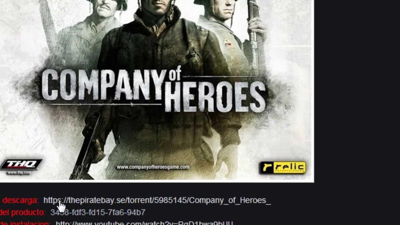 Descargar Company of heroes 2 por Mega y Utorrent Pc ...