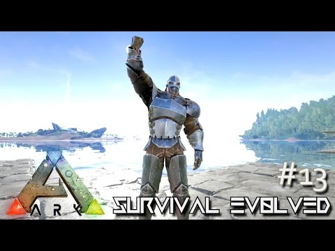ARK: Survival Evolved - TECH UP THE BASE - [Ep 13] (Server Gameplay)