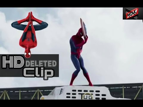 Spiderman Homecoming Deleted clip ( contains civil war Deleted scene )