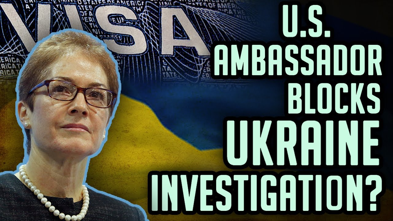 SOLOMON: Ambassador Yovanovitch blocks entry of Ukraine officials for Trump investigation