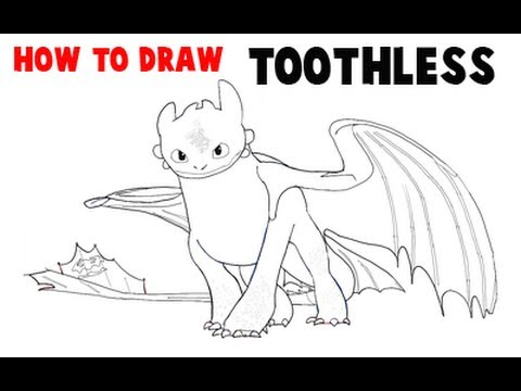 How To Loom Your Dragon Toothless Nightfury Baby :: VideoLike