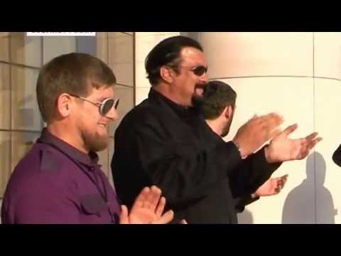 Steven Seagal in Chechnya, Grozny at Ramzan Kadyrov