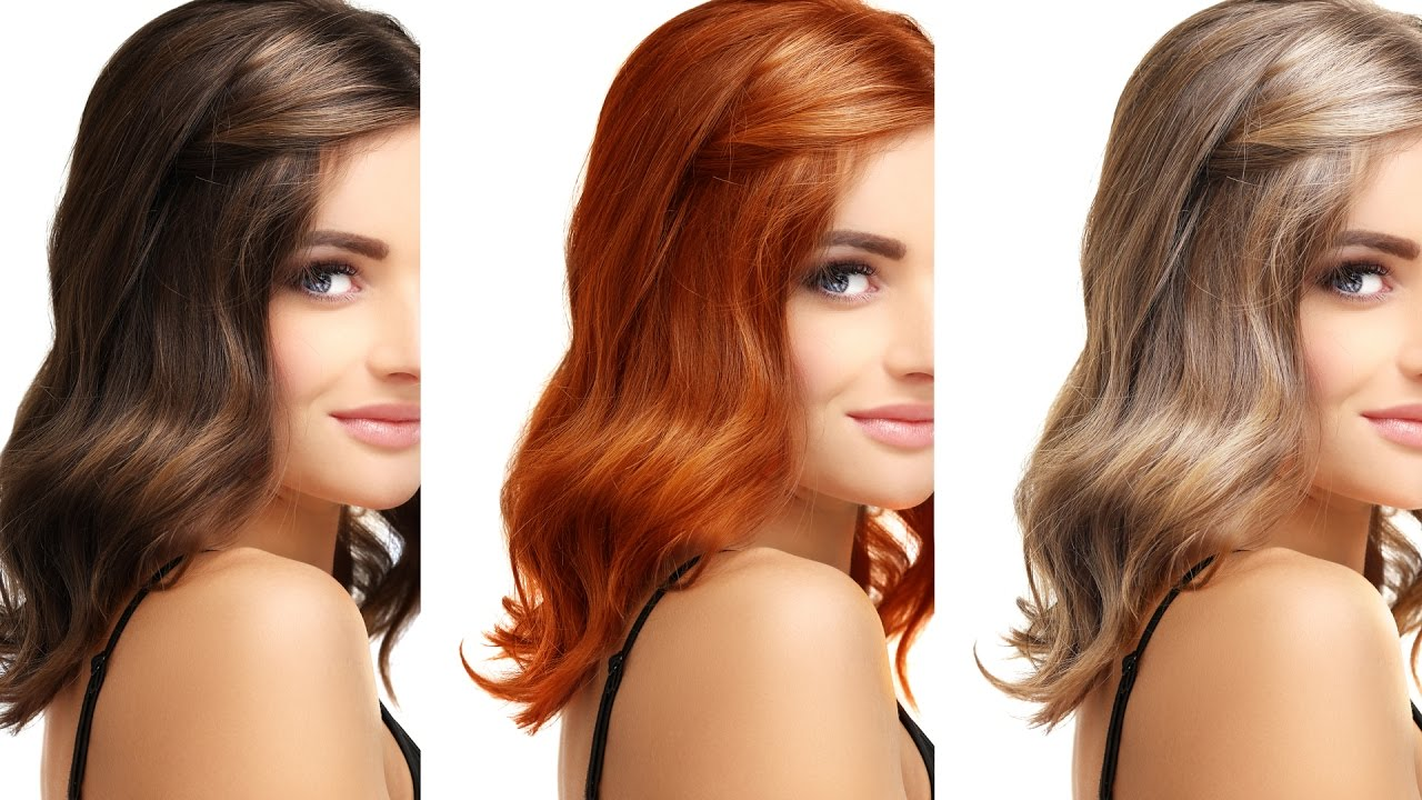 Choosing The Right Hair Color For Your Skin Tone - YouTube