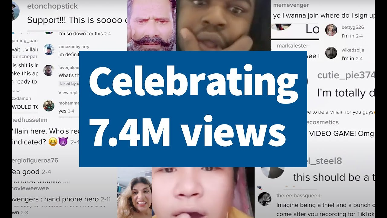 A Video Celebrating Our Audience, 7.5M Views & the Future