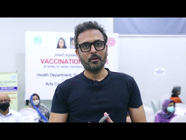 Bilal Maqsood | Covid-19 Vaccination Centre | Arts Council Karachi #acpkhi #artscouncil #covid_19