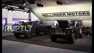 USA: Bollinger showcases B1 SUV and B2 pickup truck for first time